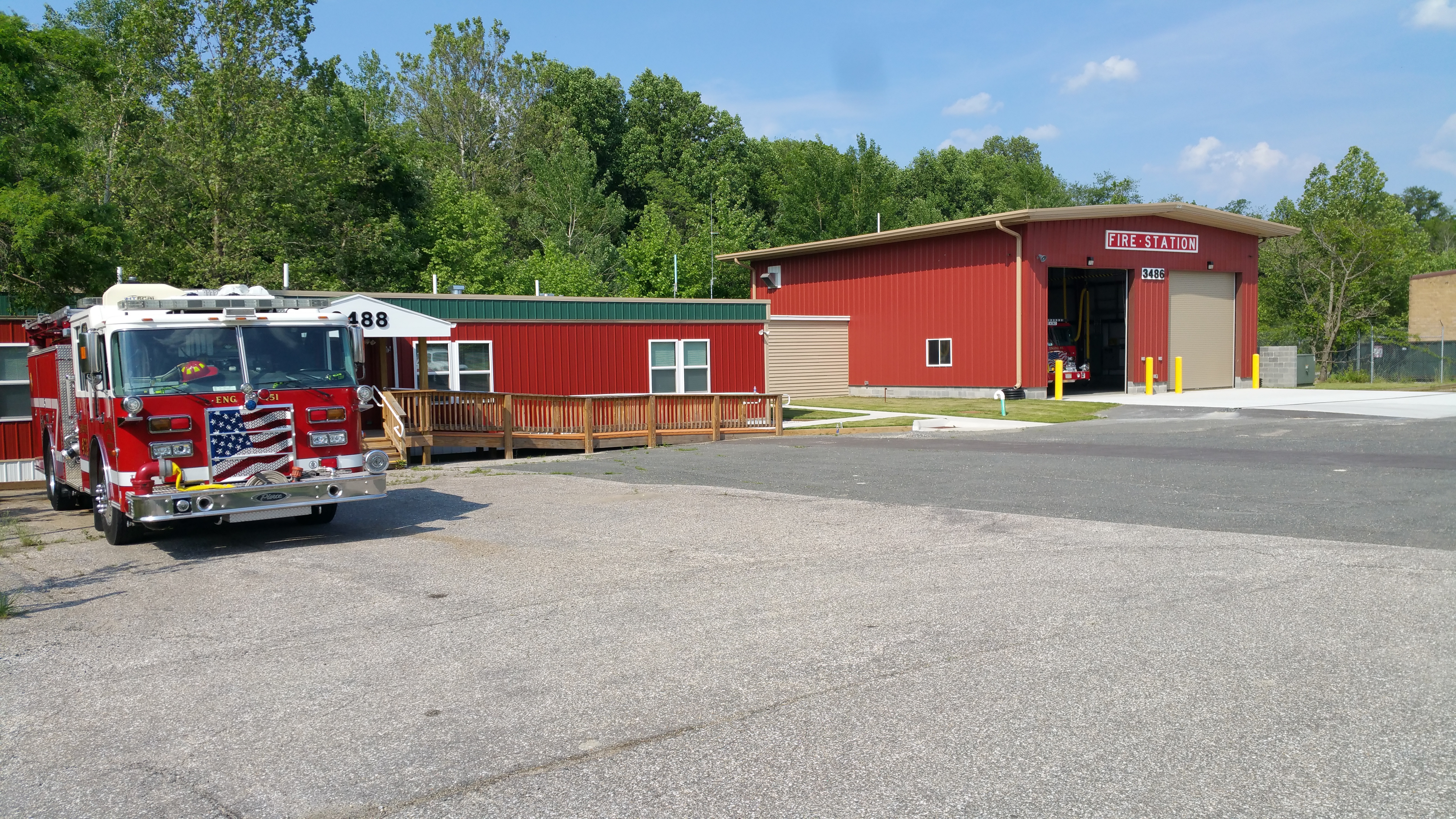 FORT MEADE FIRE STATION AND LIVING QUARTERS  image 1