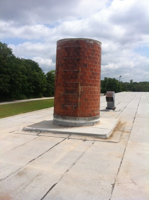 FORT BELVOIR BUILDING 707 CHIMNEY REPAIR image 5